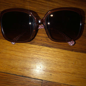 Coach Sunglasses Shades Purple